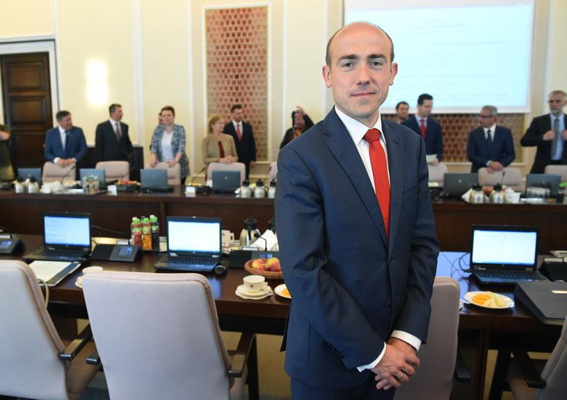 Nowy minister sprawiedliwości Borys Budka /Radek Pietruszka /PAP