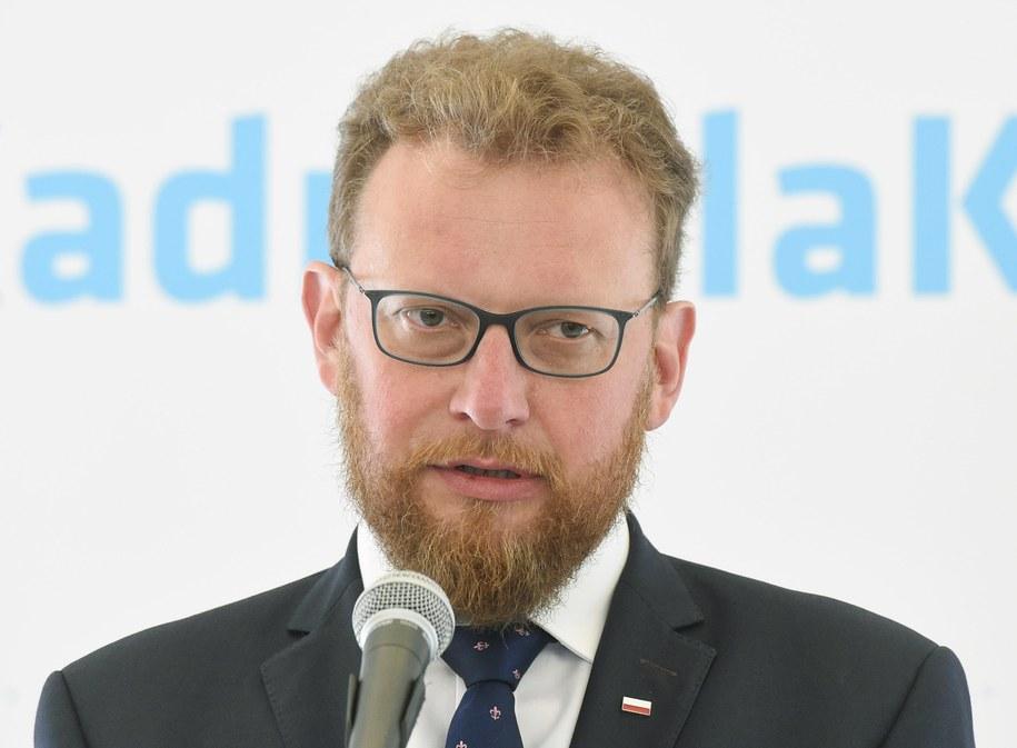 Nowy minister zdrowia prof. Łukasz Szumowski /Radek Pietruszka /PAP