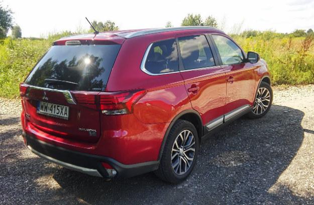 Nowy Mitsubishi Outlander /INTERIA.PL