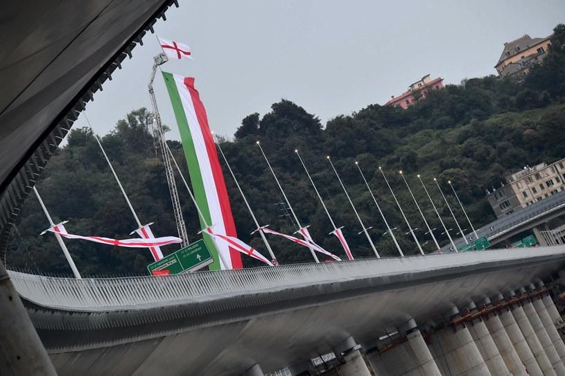 Nowy most Świętego Jerzego w Genui /EPA