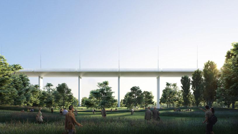 Nowy most w Genui /Fot. Renzo Piano /materiały prasowe