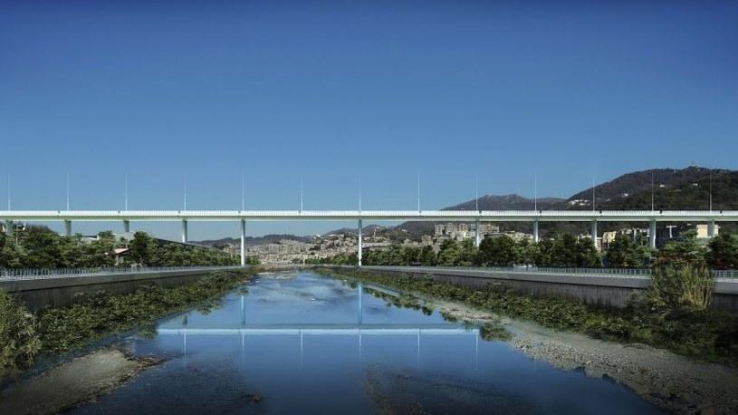 Nowy most w Genui ma być prosty, ale nie banalny /Fot. Renzo Piano /materiały prasowe