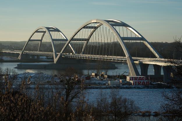 Nowy most w Toruniu /PAP
