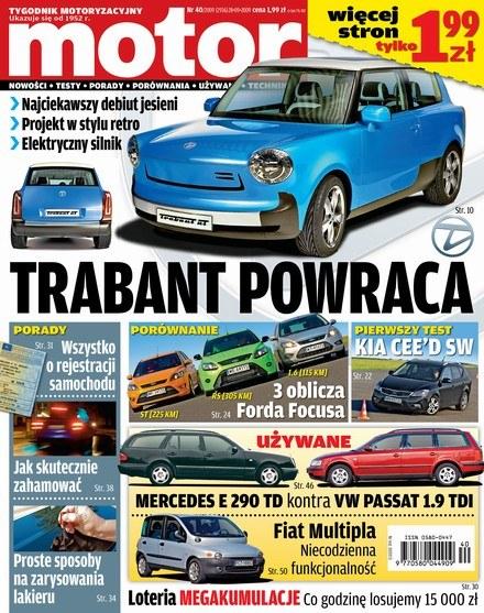 """Nowy Motor już w kioskach /tygodnik """"Motor"""""""