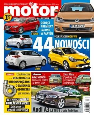 """Nowy numer Motoru /tygodnik """"Motor"""""""