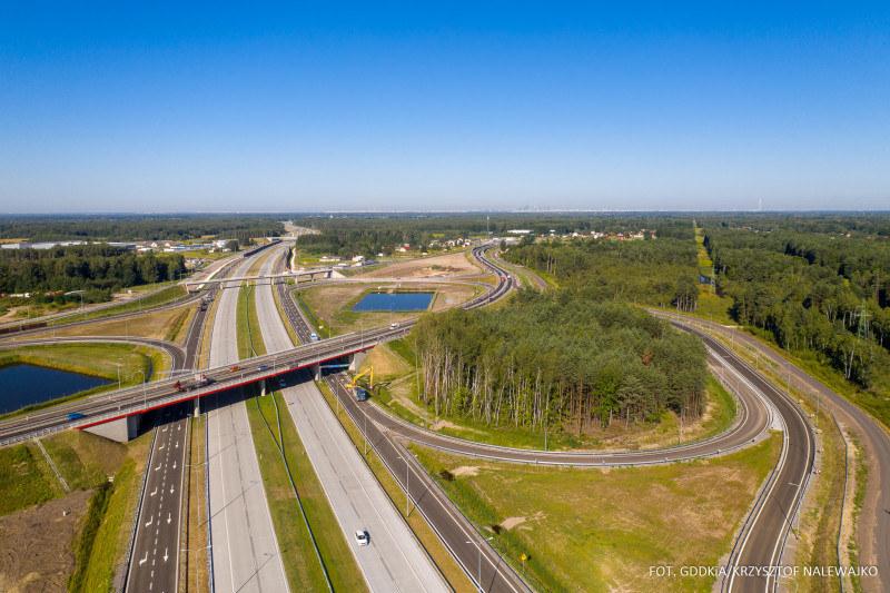 Nowy odcinek autostrady A2 /GDDKiA