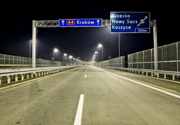 Nowy odcinek autostrady A4 / Fot: Piotr Tracz /Reporter