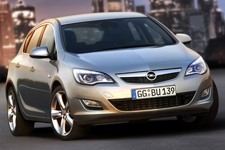 Nowy opel astra /INTERIA.PL