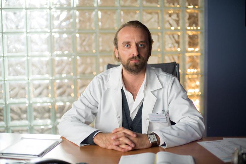 Nowy ordynator - Michał Karkoszka /x-news/ Piotr Litwic /TVN