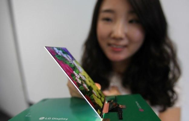 Nowy panel LG.   Fot. LG Display /materiały prasowe
