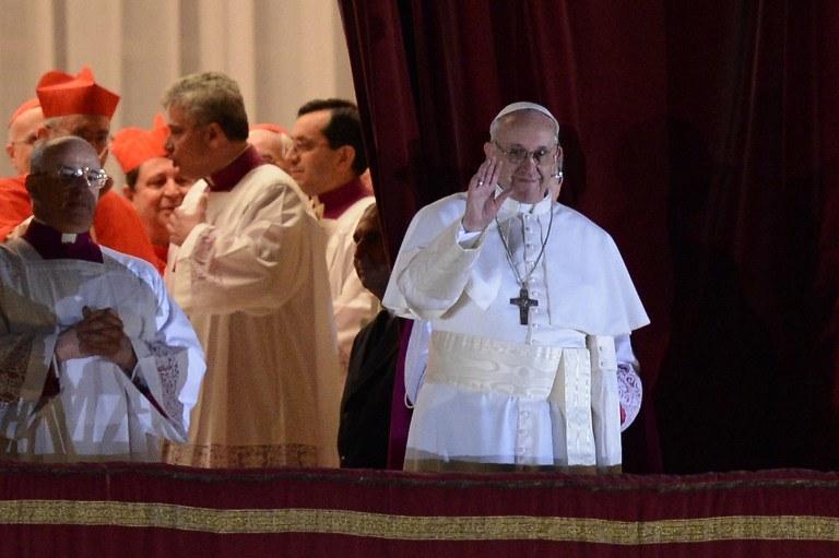 Nowy papież Franciszek /AFP