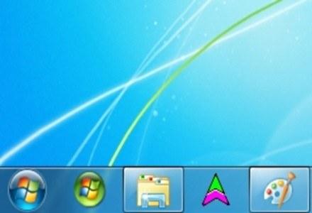 Nowy Pasek Zadań - jedna z charakterystycznych innowacji Windows 7. Działa doskonale. /INTERIA.PL