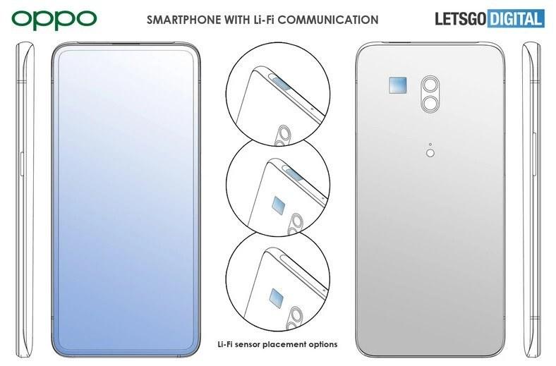 Nowy patent Oppo / fot. Let'sGoDigital /materiał zewnętrzny