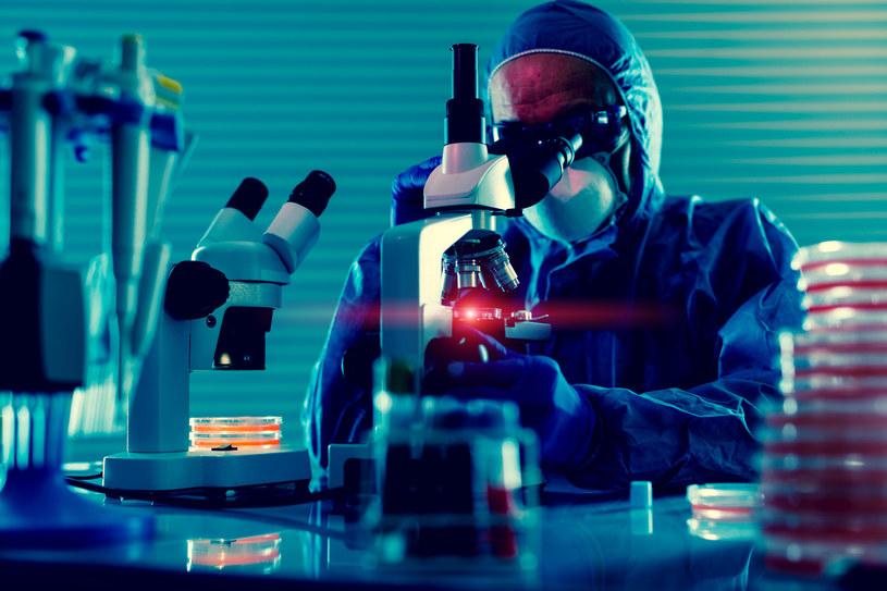 Nowy peptyd może hamować replikację SARS-CoV-2, a tym samym spowalniać chorobę /123RF/PICSEL