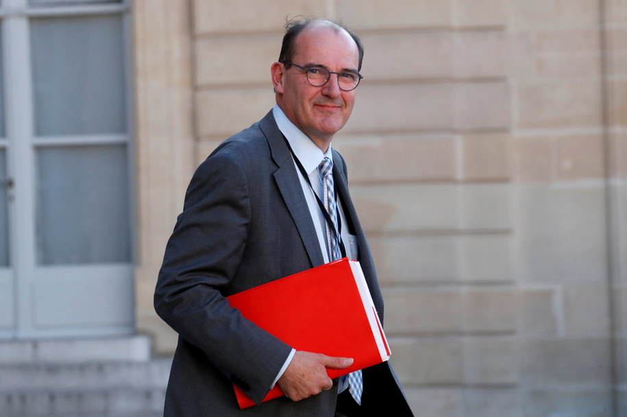 Nowy premier Francji Jean Castex /GONZALO FUENTES  /PAP/EPA