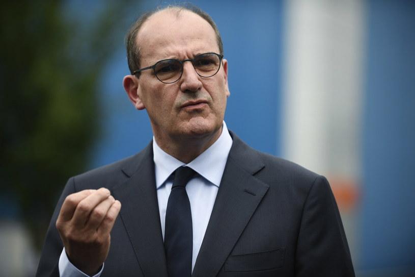 Nowy premier Francji Jean Castex /JULIEN DE ROSA /PAP/EPA
