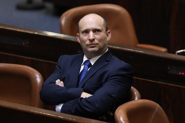 Nowy premier Naftali Bennett /ABIR SULTAN /PAP/EPA