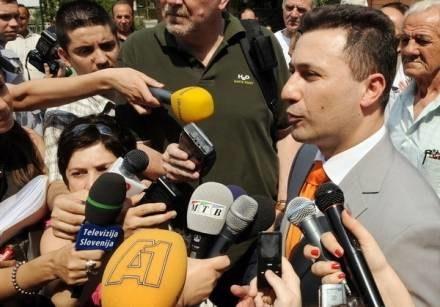 Nowy premier Nikoła Grujewski /AFP