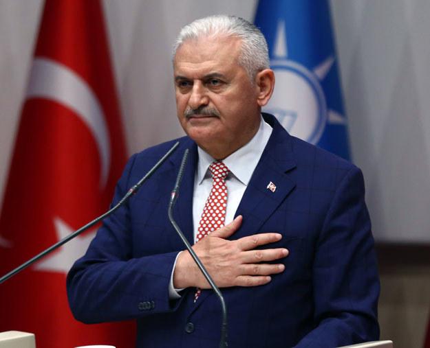 Nowy premier Turcji Binali Yildirim /AFP