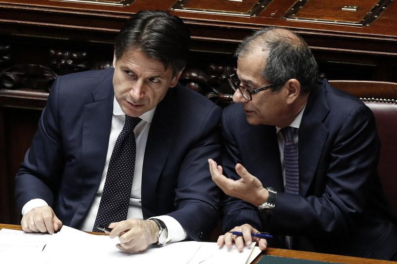 Nowy premier Włoch Giuseppe Conte /RICCARDO ANTIMIANI /PAP/EPA