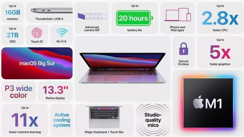 Nowy procesor Apple i jego możliwości /materiały prasowe
