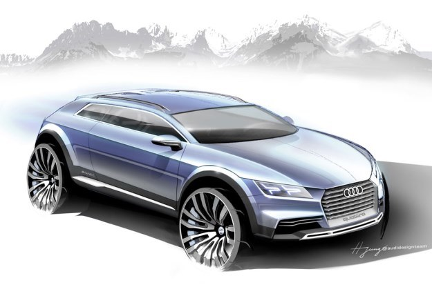Nowy prototyp Audi /
