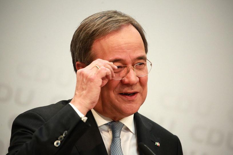 Nowy przewodniczący CDU Armin Laschet /CHRISTIAN MARQUARDT / POOL /PAP/EPA
