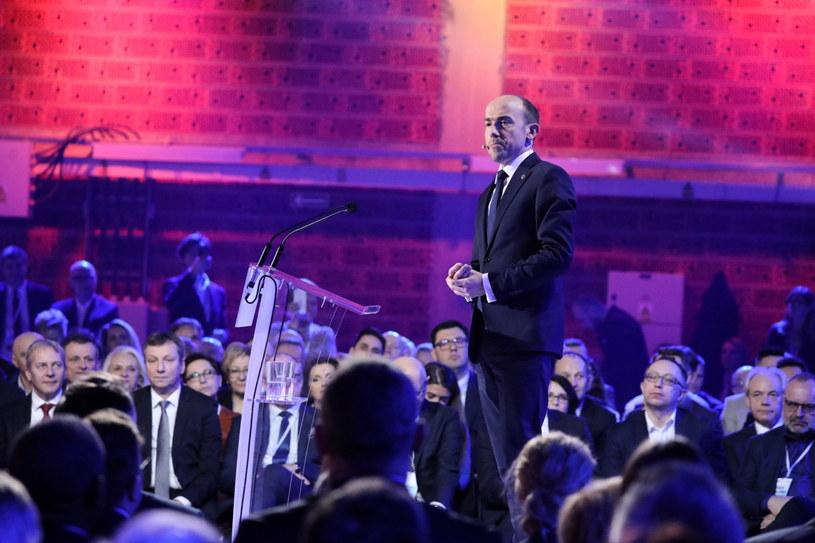 Nowy przewodniczący PO Borys Budka / Tomasz Gzell    /PAP
