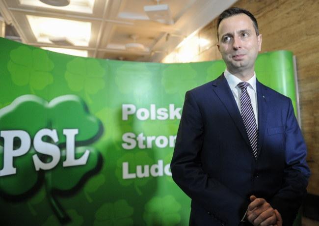 Nowy przewodniczący PSL Władysław Kosiniak-Kamysz /Marcin Obara /PAP