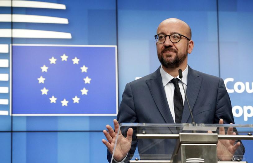 Nowy przewodniczący Rady Europejskiej Charles Michel /OLIVIER HOSLET /PAP/EPA