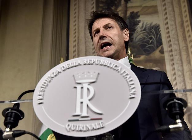 Nowy rząd  Giuseppe Conte /AFP