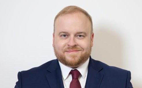 Nowy rzecznik MSZ Łukasz Jasina /Ministerstwo Spraw Zagranicznych