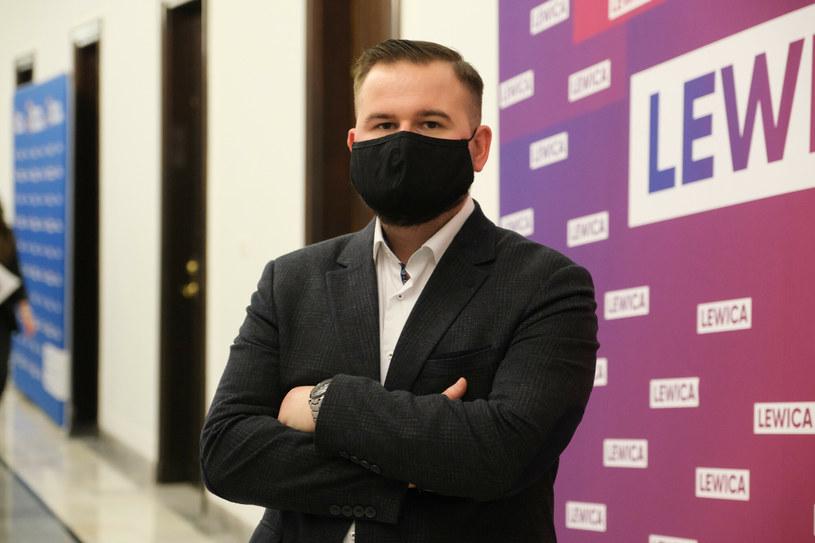 Nowy rzecznik prasowy partii Nowa Lewica /Mateusz Grochocki /East News