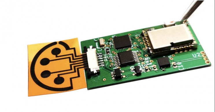 Nowy sensor do wykrywania COVID-19 / fot. Caltech /materiały prasowe