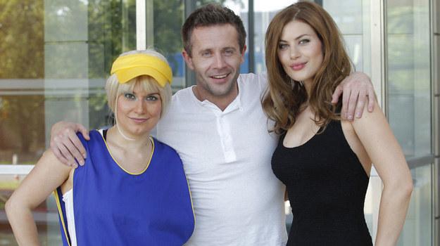 "Nowy serial funkcjonuje pod roboczym tytułem ""Kumple"" /Podsiebierska /AKPA"