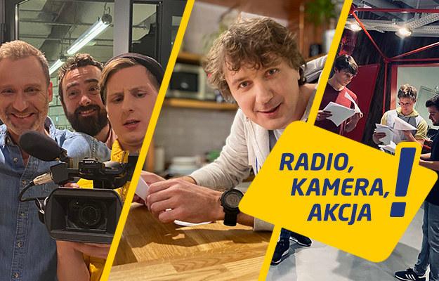 Nowy serial komediowy W rolach głównych, obok aktorów i gwiazd znanych ze szklanego ekranu, zobaczymy dziennikarzy Radia RMF FM /RMF FM