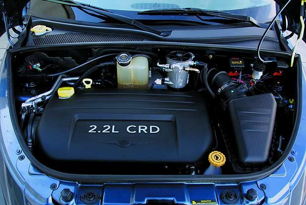 Nowy silnik PT Cruisera (kliknij) /INTERIA.PL