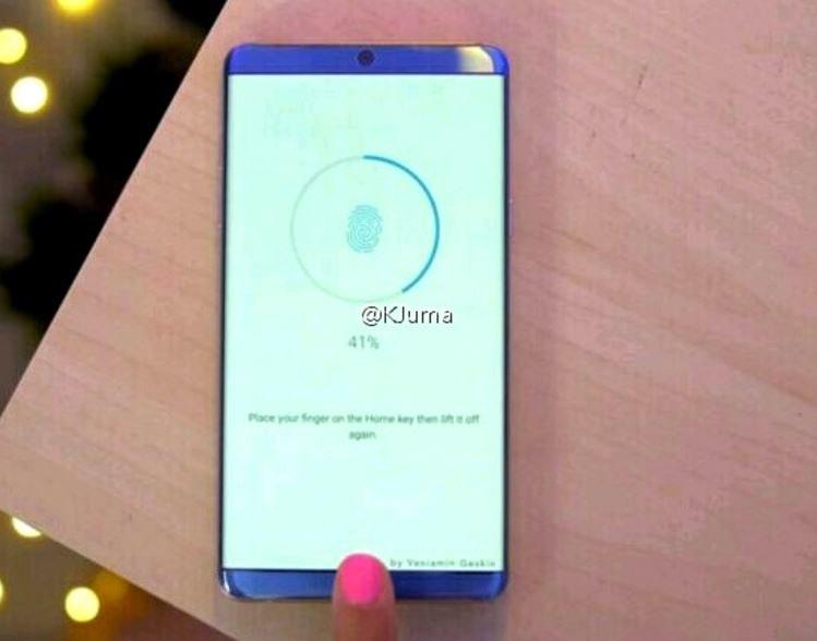Nowy smartfon będzie miał zagięte krawędzie /Weibo /Internet