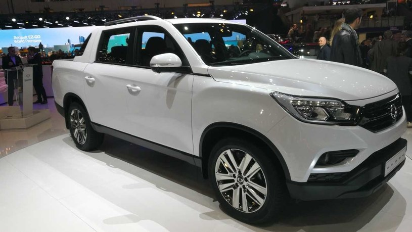 Nowy SsangYong Musso to pickup /