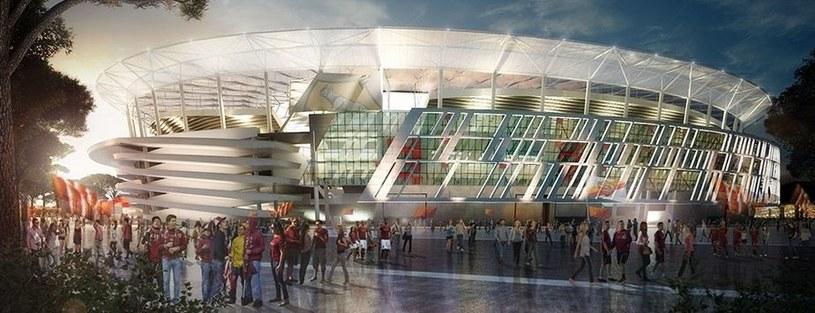 Nowy stadion AS Roma już powstaje /materiały prasowe