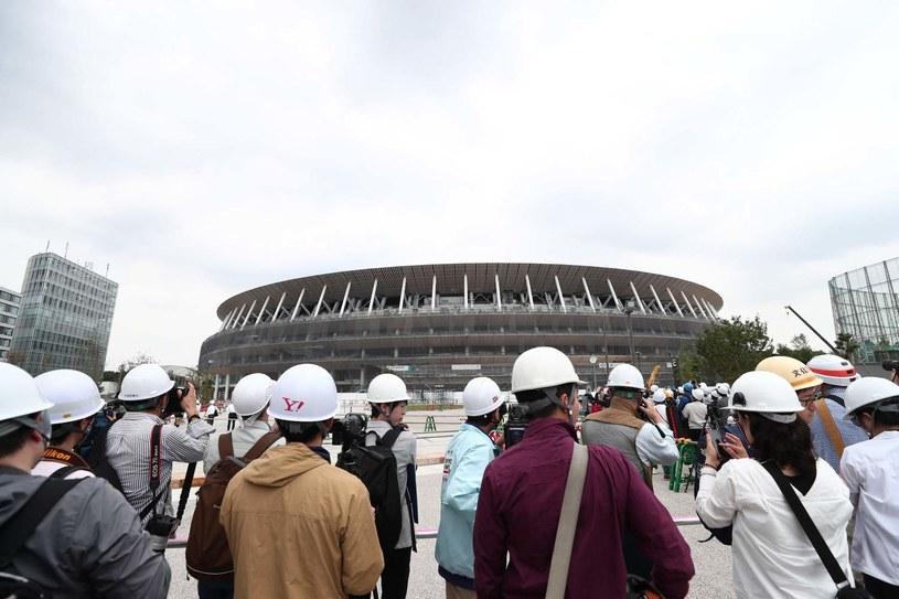 Nowy Stadion Narodowy w Tokio jeszcze nie jest gotowy /AFP