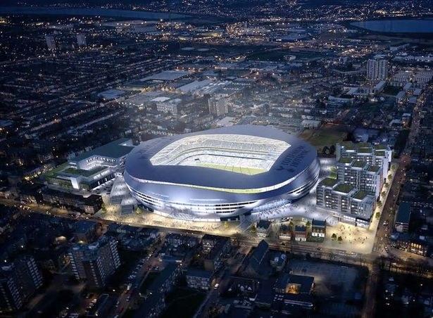 Nowy stadion Tottenhamu wymagałby wyburzenia kilku istniejących budynków /materiały prasowe