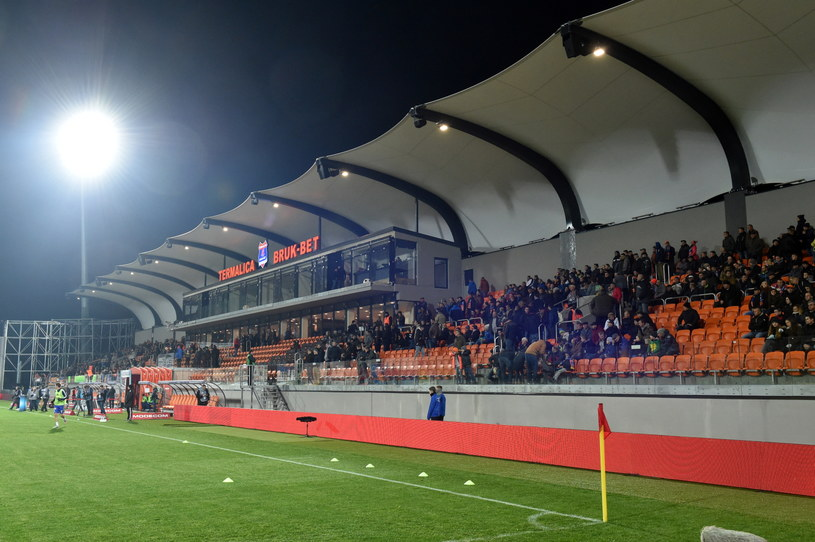 Nowy stadion w Niecieczy /Jacek Bednarczyk /PAP