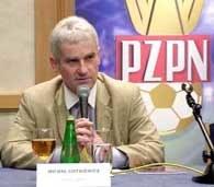 Nowy-stary prezes PZPN-u Michał Listkiewicz /INTERIA.PL