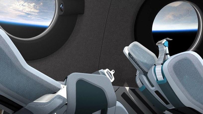 Nowy statek Virgin Galactic /materiały prasowe