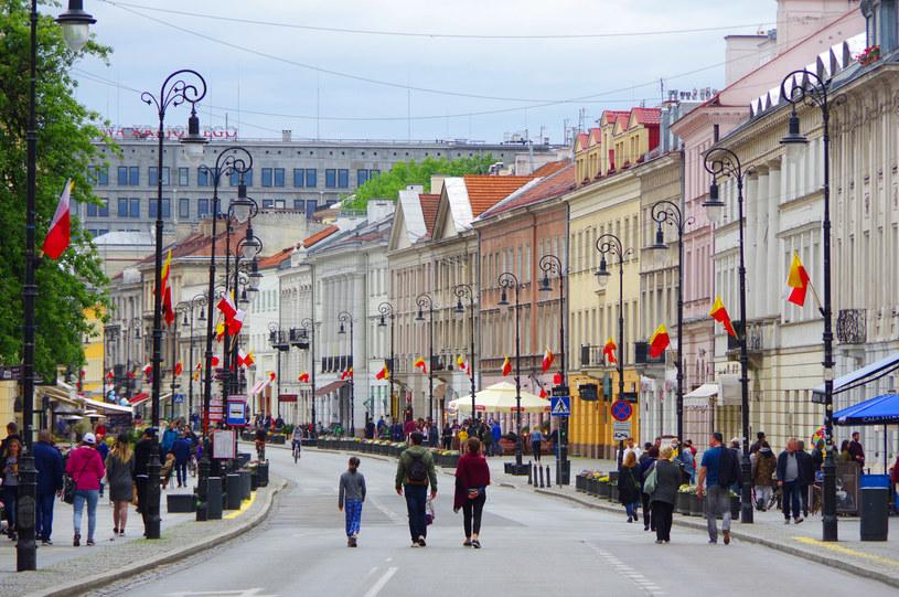 Nowy Świat w Warszawie /Marek Bazak /East News