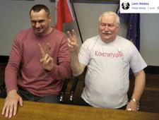 Nowy t-shirt Lecha Wałęsy