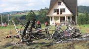 Nowy Targ: Rozbił się samolot, zginął doświadczony pilot