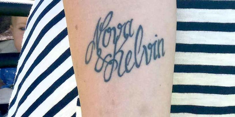 """Nowy tatuaż przyniósł dziecku nowe imię, fot: """"Blekinge Läns Tidning"""" /materiały prasowe"""