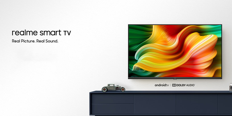 Nowy telewizor Realme /materiały prasowe
